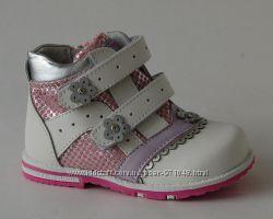 Демисезонные ботинки Calorie 30В белые