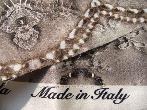 Alta moda Настоящий итальянский шелк, 100 шелк, шелковая ткань