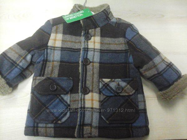 Пальто детское Benetton