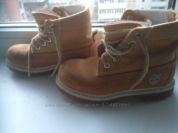 Детские демисезонные ботинки Timberland 29 размера