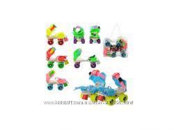 Ролики раздвижные PROFI 4-колесные детские для самых маленьких