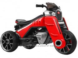 Мотоцикл 2 мотора 25W. 2 аккумулятора 6V  4, 5AH, MP3, TF, USB, EVA.