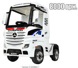 Первая детская фура грузовик электромобиль