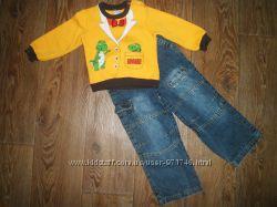 Фирменные джинсы в состоянии новых