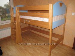 Кровать чердак спальное место 80 на 190