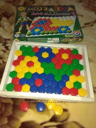 Мозаика 1 крупная для малышей Технок 80 деталей