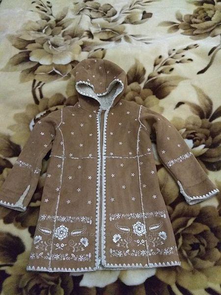 Пальто дублёнка Gap р.5 лет