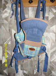 Детская переноска-рюкзачёк