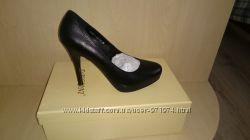 Кожанные классические туфли