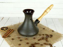 Турка Аладдин с деревянной ручкой 350 мл