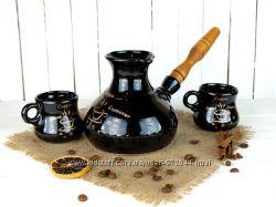 Набор - турка Espresso 500мл с 2-мя чашками