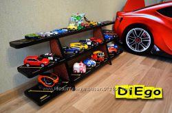 Напольная полка Парковка для игрушечных машинок