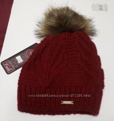 Новая женская шапка VEILO Польша теплая не продуваемая с помпоном