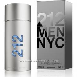Туалетная вода Carolina Herrera 212 Men NYC оригинал