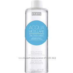 Мицеллярная вода Pupa Micellar Water оригинал