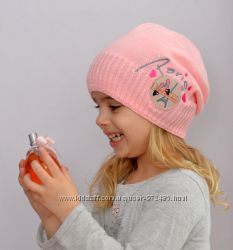 Деми шапочки для девочек и девушек-Париж, Лотос, Радуга, Хаус. В наличии