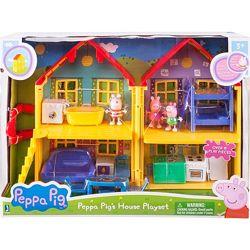 Домик свинки Пеппы Peppa Pig Deluxe House Playset