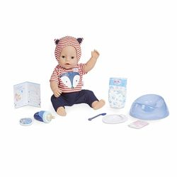 Беби Борн голубые глаза Baby Born Interactive Boy &ndash Blue Eyes with 9 W