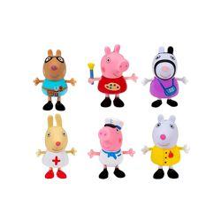 Набор фигурок друзья свинки Пеппы 6 шт Peppa Pig What I Want to Be 6 PK