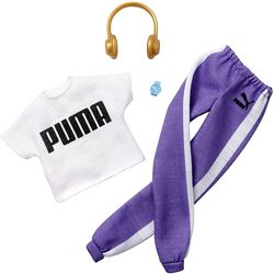 Барби одежда Barbie Clothes Puma Outfit Doll with 2 Accessories