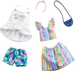 Барби одежда Barbie Clothes 2 Outfits Doll Weekend Mode