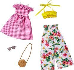 Барби Одежда Barbie Fashions Clothing  Blue Tropical