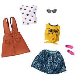 Барби одежда Barbie Fashions 2-Pack Clothing Kitty