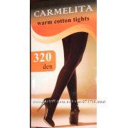 Женские теплые колготы Carmelita 320 den Хлопок