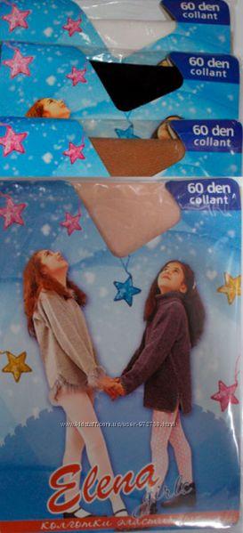 Детские капроновые колготы для танцев без торса 60 den