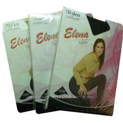 Женские капроновые колготы для танцев 70 den Elena