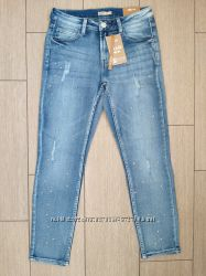 Новые джинсы Cropp  со звёздочками