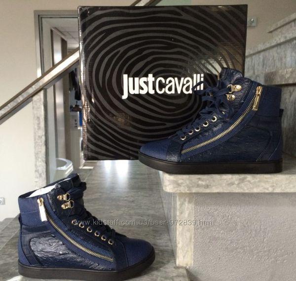 CAVALLI кроссовки- ботинки  35 новые оригинал