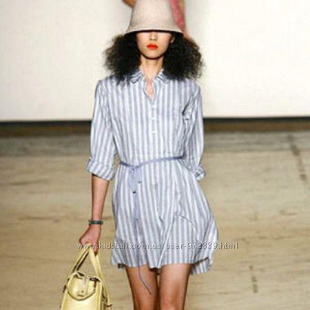Платье PATRIZIA PEPE в полоску , рубашечный стиль р 46-48