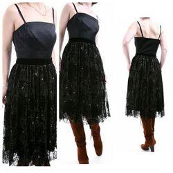 ELIE TAHARI кружевное вечернее платье  р 48