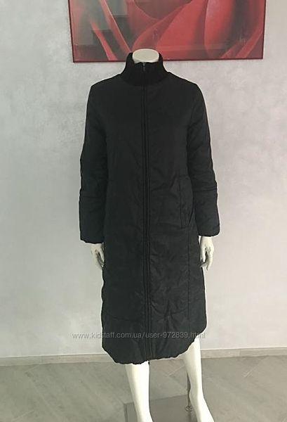 Пальто длинное утепленное UNITED COLORS OF BENETTON 42-44, 44
