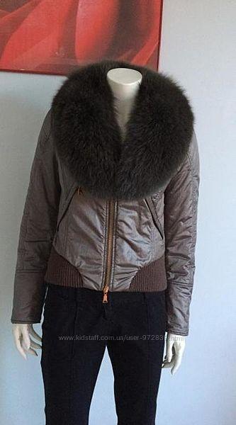 Richmond куртка c меховым воротником 42-44