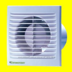 Бытовой вентилятор Домовент серии СТ 100, 125, 150 с таймером