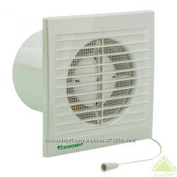 Бытовой вентилятор Домовент серии СВ 100, 125, 150 с выключателем