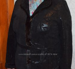 Замшевая куртка- пиджак