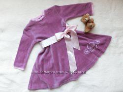 Велюровое платье на девочку