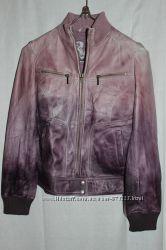 куртка кожа Mustang, оригинал, производство Индия для Германии.