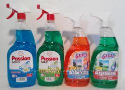Средство для мытья окон Gallus и Passion gold