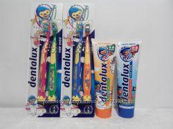 Детская зубная паста Dentalux и Детские зубные щетки Dentalux