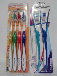 Зубные щетки 4 шт. и 2 шт. Elkos