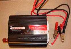 Автомобильный инвертор напряжения 500Вт-1000Вт