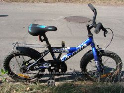 Детский велосипед для мальчика 3-6 лет PRIDE Flash 16
