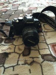 Olympus e-420 цифровой зеркальный фотоаппарат снизила цену