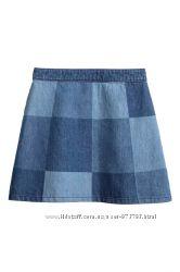 Джинсовая юбка женская H&M