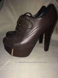 Кожаные туфли 34 размер