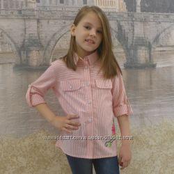 Детская летняя рубашка